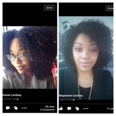 10 month natural hair journey = GROWTH!