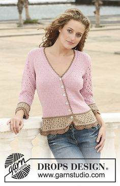 2cf52545b065 Cookie Crush Jacket   DROPS 111-2 - Free knitting patterns by DROPS Design