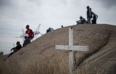 Tuesday marks four years since the Marikana Massacre. But for the people living there, it seems not much has changed. South Africa, Hold On, History, Modern, Tuesday, Politics, People, Historia, Trendy Tree