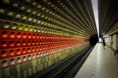 Prague Metro Station   Flickr - Photo Sharing!