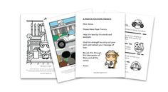 This is our special page with FREE downloads to help kids get excited about Pope Francis' 2015 visit to the U.S.!  Enjoy the printouts and coloring pages and do