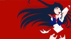 Sailor Mars from Sailor Moon Crystal   Minimalist by matsumayu.deviantart.com on @DeviantArt