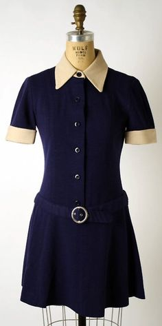 Mary Quant dress ca. 1968 via The Costume Institute of the Metropolitan Museum of Art