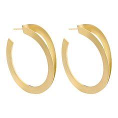 Boucles d'oreille dorées dédoublées portées par Cristina Cordula   shozap