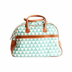 Pyramid Weekender Bag by Rising Tide Fair Trade