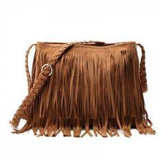 3da7ef68f6 Shop for CAMEL Faux Suede Fringe Tassel Shoulder Bag Women s fashion  Handbag Crossbody Bag Messenger Bags