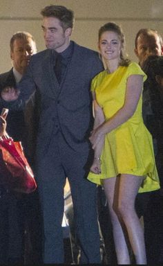 Rob and Kristen leaving the Breaking Dawn Part 2 premiere after party in Madrid