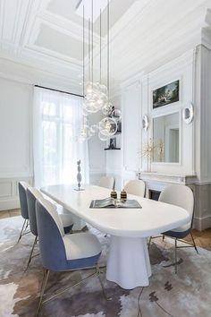 Apartment Saint Germain des Prés, Paris, by Gérard Faivre: