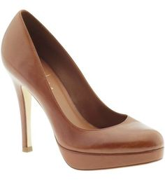 brown heels  by Cole Haan