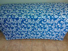 Blue Hawaiian print!