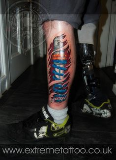 If I ever need to get artificial limbs, I'd do something like this =]