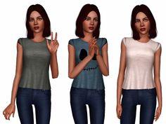 Clothes for teen sims Simplex Sims Sims 3 Cc Clothes, Sims 3 Cc Finds, Sims Cc, Jean Outfits, Outfits For Teens, Clothes For Women, Female, Tees, Womens Fashion