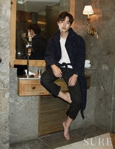 Junho - Sure Magazine March Issue '15