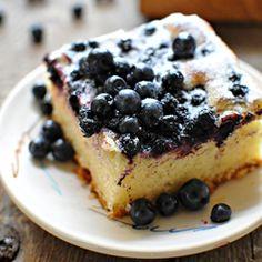 Blueberry Yeast Cake