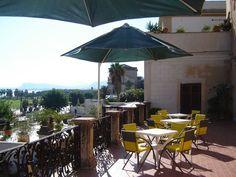 Area esterna per eventi, cene, relax. Terrazza panoramica sul Golfo di Palermo L'Altro ArteContemporanea