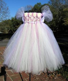 Once Upon A Time - Rapunzel  Flower Girl  Tutu by whererainbowsend1