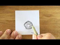 Zentangle® Pattern: Pepper - YouTube