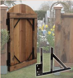 wooden gate fences
