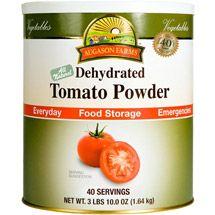 Walmart: Augason Farms Emergency Food Dehydrated Tomato Powder, 58 oz for $30.09