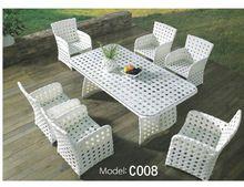 Wicker Garden usado rattan sintético mobiliário de exterior