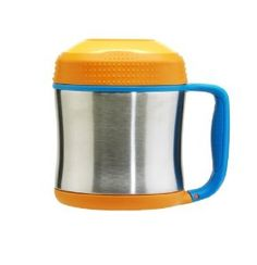 Contigo Stainless Steel Kids Food 10-Ounce Jar , Orange