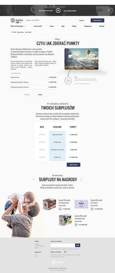 Subclub - Website on Behance by Piotr Kazmierczak