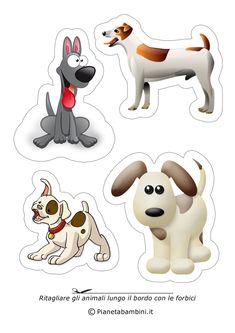 Disegni Di Animali Da Ritagliare E Incollare Per Bambini Busy Bag