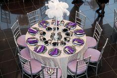 elegant wedding table settings - Google Search