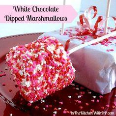 16 Quick & Easy Valentine's Desserts #valentinesday #valentines