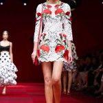 Dolce and Gabbana Show Milan Fashion Week Spring Summer 2015