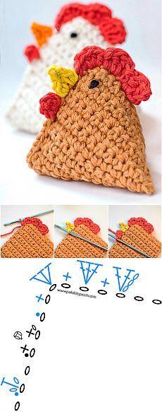 Crochet Designs, Crochet Patterns, Crochet Toys, Stitch, Knitting, Hats, Christmas, Accessories, Crochet Accessories
