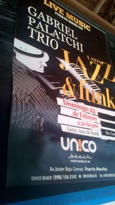 Jazz concert Puerto Morelos Riviera Maya