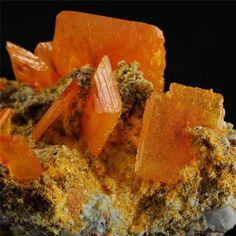 Wulfenite For Sale - Rowley Mine, Theba, Arizona, United States of America - e-Rocks (Ana Cubillo)