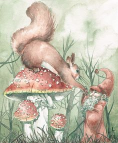 The Fly Agaric by *Toradh on deviantART