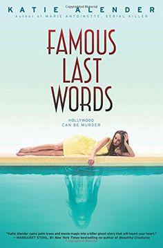 Famous Last Words by Katie Alender http://www.amazon.com/dp/0545835623/ref=cm_sw_r_pi_dp_YETBwb0CRSNM7