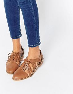 ASOS | ASOS MEMBERSHIP Leather Flat Shoes