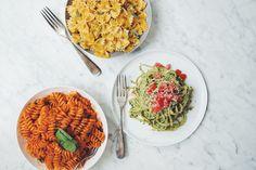 easy vegan pasta sauces | RECIPES on hotforfoodblog.com