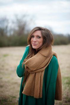 Darling Two// chunky scarf #fashion #winter