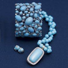 baby blue jewelry
