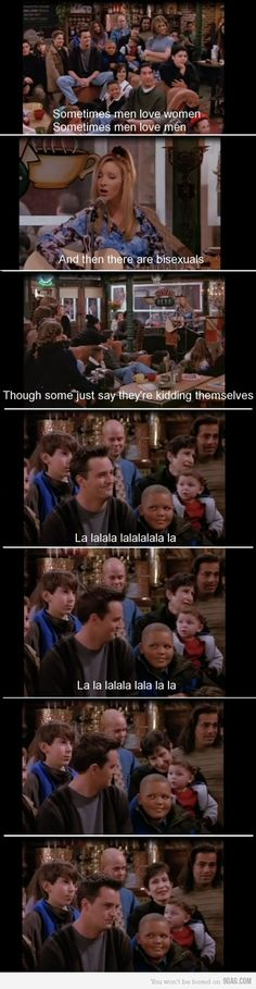 Just Chandler Bing.. HAHA. i just died..