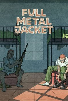 Full Metal Jacket - movie poster - Max Temescu