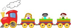 Train Cartoon, Kindergarten Songs, Vector Clipart, Classroom Management, Back To School, Disney Characters, Fictional Characters, Preschool, Clip Art