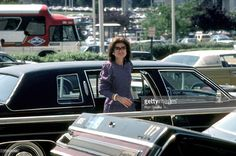 Jackie Onassis during Courtney Kennedy and Jeff Ruhe Wedding at Holy Trinity Church in Washington D.C., United States. (Photo by Ron Galella/WireImage)