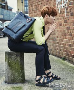 Lee Jong Suk - InStyle Magazine April Issue '15
