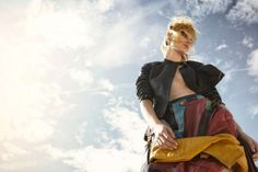 Dazed & Confused is featuring  for the October 2012 issue an melodramatic punk inspired editorial on the beach.