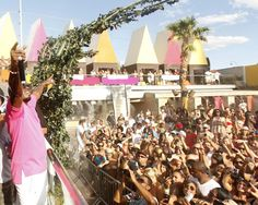 Diddy and Pauly D party at Palms Casino over Labor Day weekend