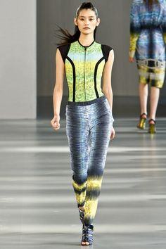 See the complete Peter Pilotto Spring 2012 Ready-to-Wear collection.