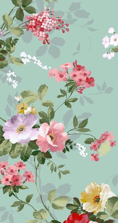 Trendy Flowers Wallpaper Iphone Turquoise Floral Patterns – My Best Ideas Floral Wallpaper Iphone, Phone Wallpaper Images, Cool Wallpapers For Phones, Iphone Background Wallpaper, Tumblr Wallpaper, Love Wallpaper, Pattern Wallpaper, Cute Wallpapers, Turquoise Wallpaper