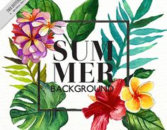 "Check out new work on my @Behance portfolio: ""Watercolor tropical vegetation background"" http://be.net/gallery/40881869/Watercolor-tropical-vegetation-background"