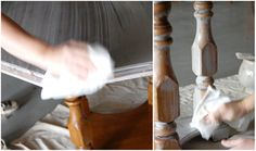 before and after basics: whitewash | Design*Sponge - great tutorial!